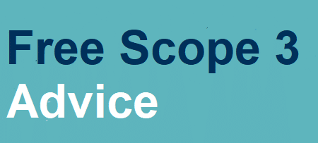 Free Scope 3 Advice